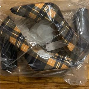Plaid shoes NEW in bag!